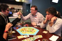 Hundreds of geeks came out to the GeekWire Game night earlier this month.