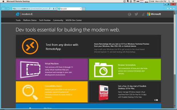 microsoft browser for mac