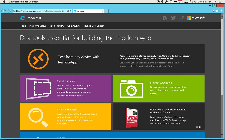 Internet explorer 11 new tab