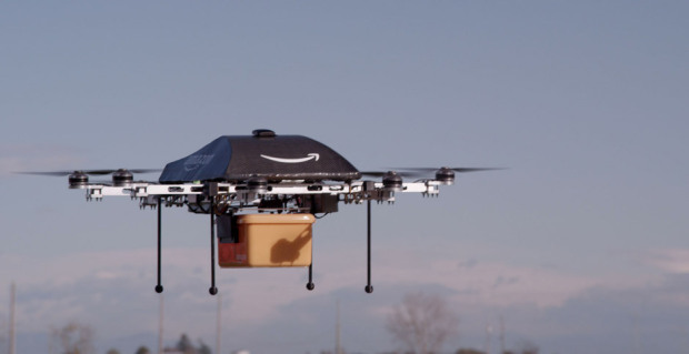 Amazon's delivery drone.