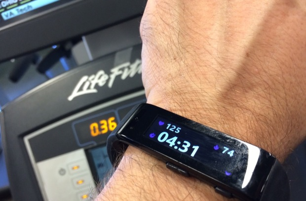 The Microsoft Band.