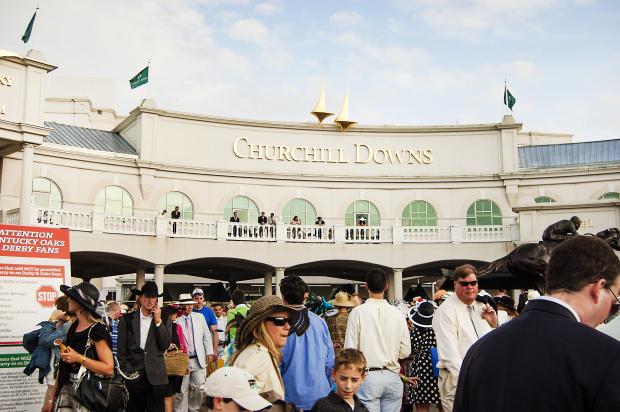 The legendary Churchill Downs. Photo via Shutterstock.