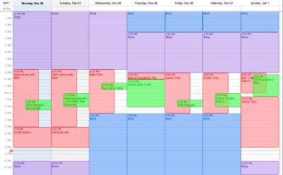 scheduling calendars