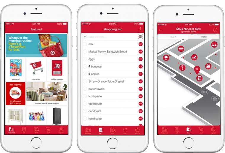 Target Adds In Store Spin To Iphone App By Adding