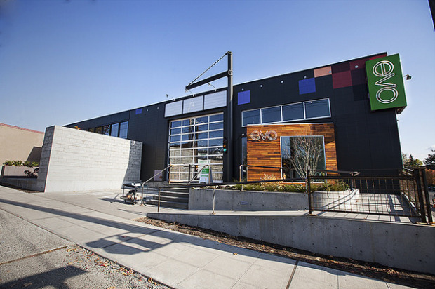 Evo's Seattle retail store in the Fremont neighborhood. (Credit: Evo/ Aaron Leitz)