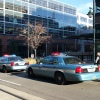 Seattle police respond to a threat at Amazon's Seattle headquarters.
