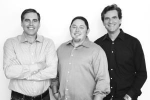 Boomio founders Randy Kath, PJ Pedroni and Bob Case