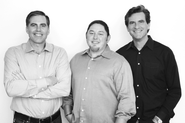 Boomio founders Randy Kath, PJ Pedroni and Bob Case