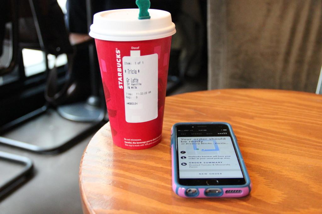 Starbucks order ahead