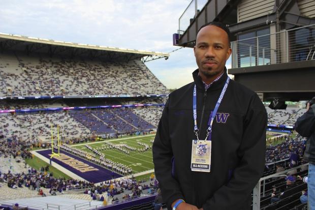 University of Washington Athletic Department CTO Erik Jones.