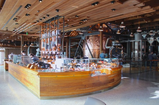 Starbucks Reserve Roastery And Tasting Room Seattle