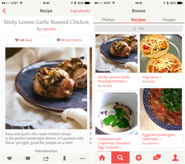 App of the week kitchenbowl makes it easy to share your recipes kitchenbowlmerged forumfinder Gallery