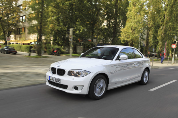 You may start seeing rentable BMW vehicles like this in Seattle. Photo via BMW.