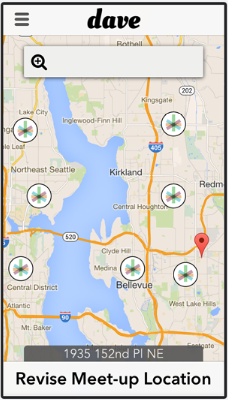 Dave, a new marijuana delivery app in Seattle.