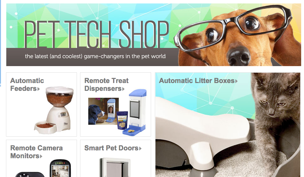 Photo via Wag.com Pet Tech Shop
