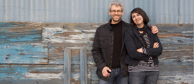Biznik co-founders Dan McComb and Lara Feltin.