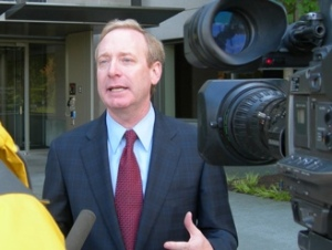 Microsoft General Counsel Brad Smith