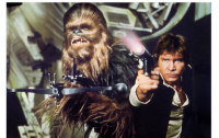Han Solo, with trusted business partner, Chewbacca. Photo: IMDb