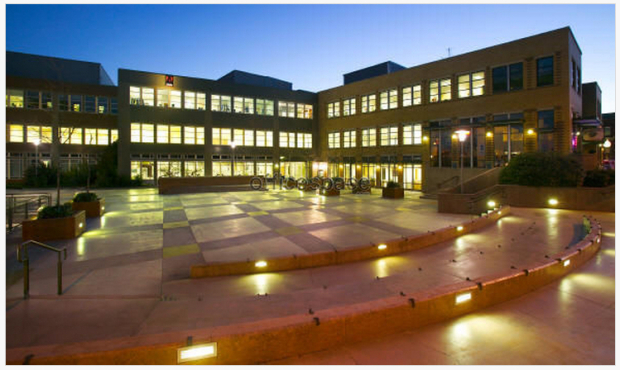 The Plaza Building where Tableau is  continuing its expansion in Fremont.  Photo via OfficeSpace.com