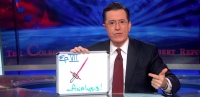 Photo via The Colbert Report