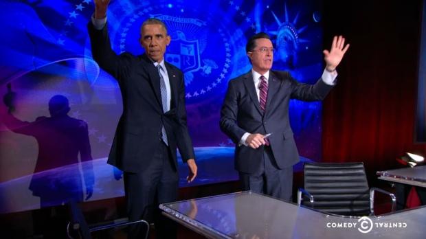 Photo via Comedy Central/The Colbert Report