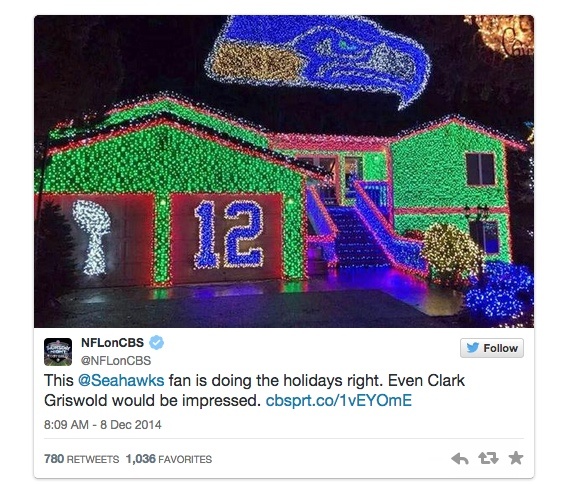 Seahawks Christmas Lights.This Seahawks Inspired Holiday Light Display Will Blow Your
