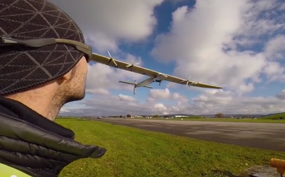 Incredibly cool solar-powered plane to fly around the world