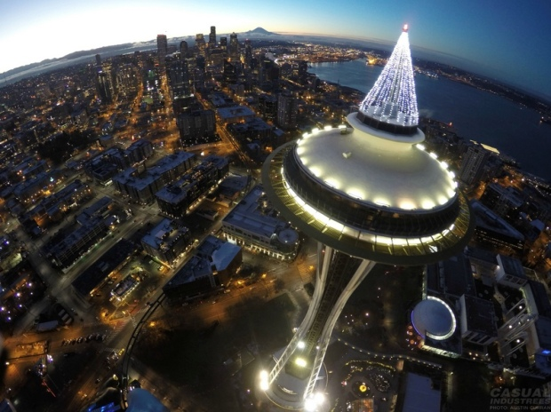FAA Looking Into Picture Taken By Drone Above Space Needle