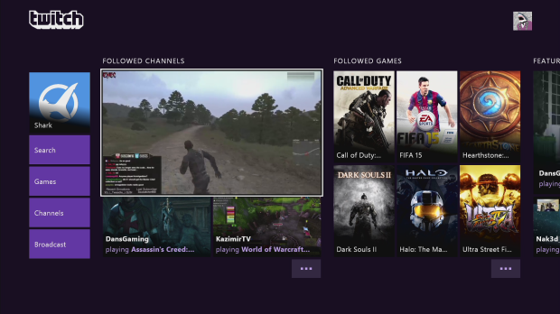 Twitch beefs up Xbox One app with new homepage, filtering