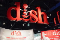 DISH Networks booth - CES 2015