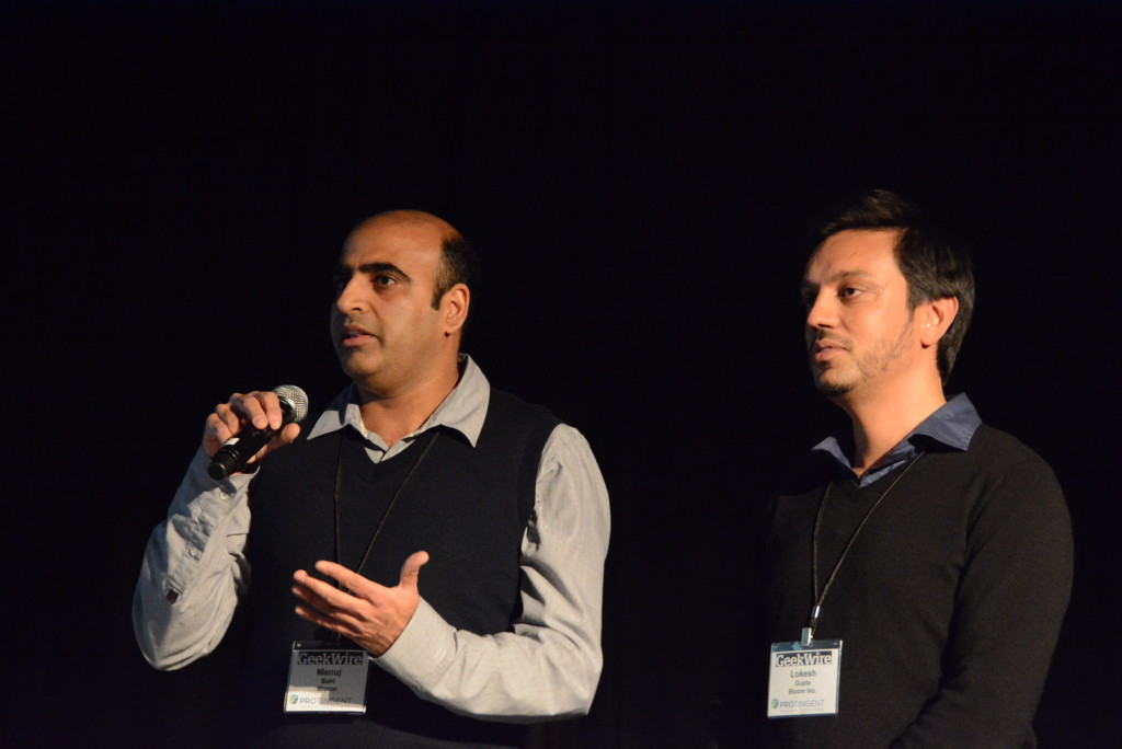 Manuj Bahl & Lokesh Gupta - Bloom - Startupday 2015