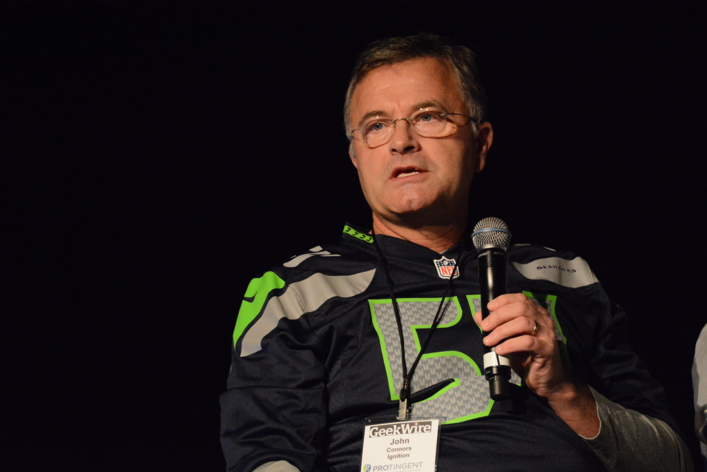John Connors at Startupday 2015