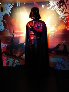 Darth Vader stands alone