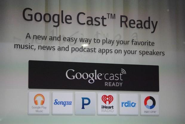 Google cast ready