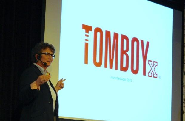 TOMBOYx CEO Fran Dunaway.