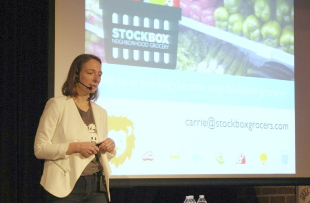 Stockbox CEO Carrie Ferrence.