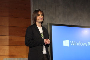 Alex Kipman from Microsoft's Operating Systems group.