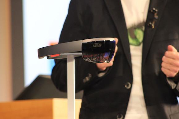 Microsoft's HoloLens headgear