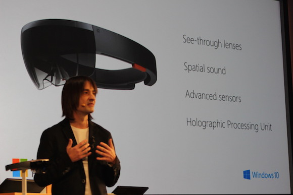 Microsoft's Alex Kipman leads the team that developed the HoloLens.