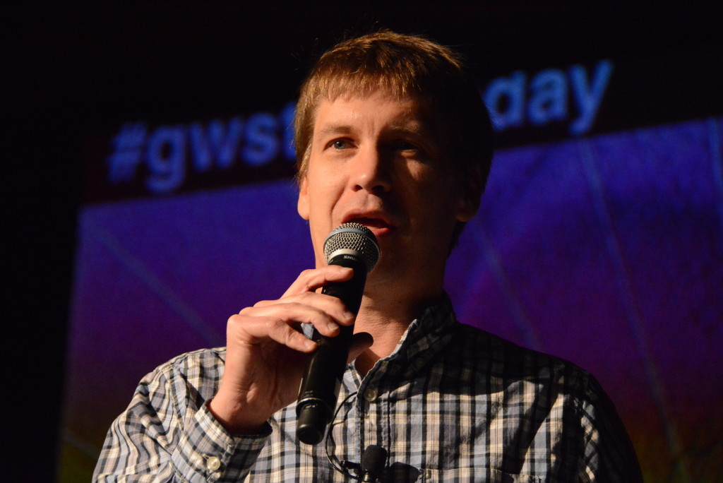 John Cook at Startupday 2015