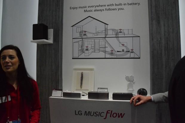 LG Music Flow - CES 2015