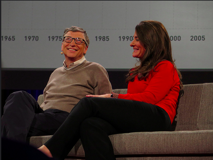 Bill and Melinda Gates receive high award of 'distinguished service' from India