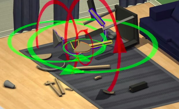 Crazy video game lets you virtually assemble ikea for Someone to assemble ikea furniture