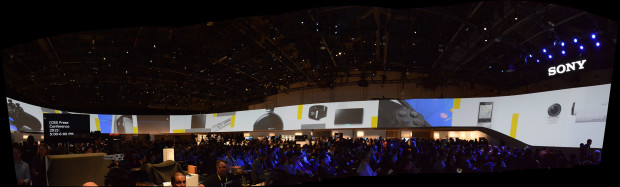Sony's mega-booth at CES 2015