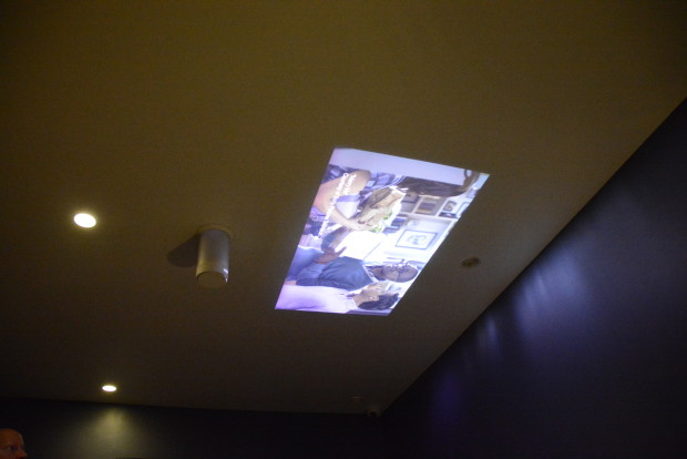 Sony Short Throw Ceiling Projector At CES 2015