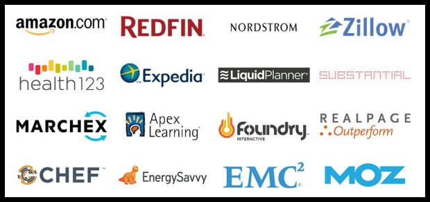 Ada's sponsor companies include Amazon, Zillow, and Nordstrom.