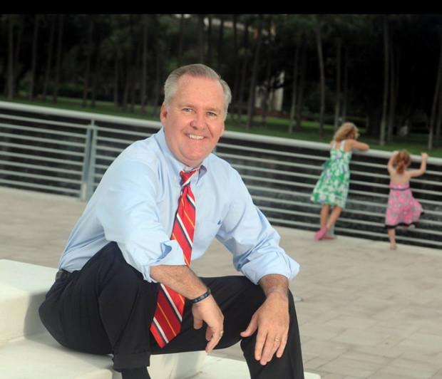 Mayor Bob Buckhorn is leading an economic development charge in Tampa.