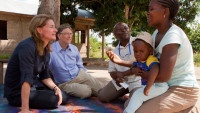 Bill and Melinda Gates in Tanzania. (Photo Credit: Gates Notes)