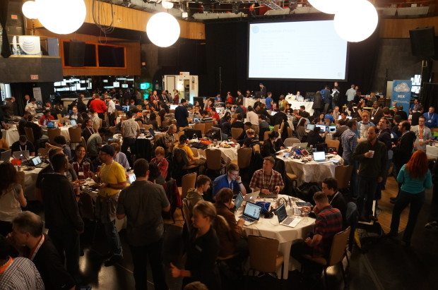 An overview of the hackathon at the AT&T Dev Summit in Las Vegas.