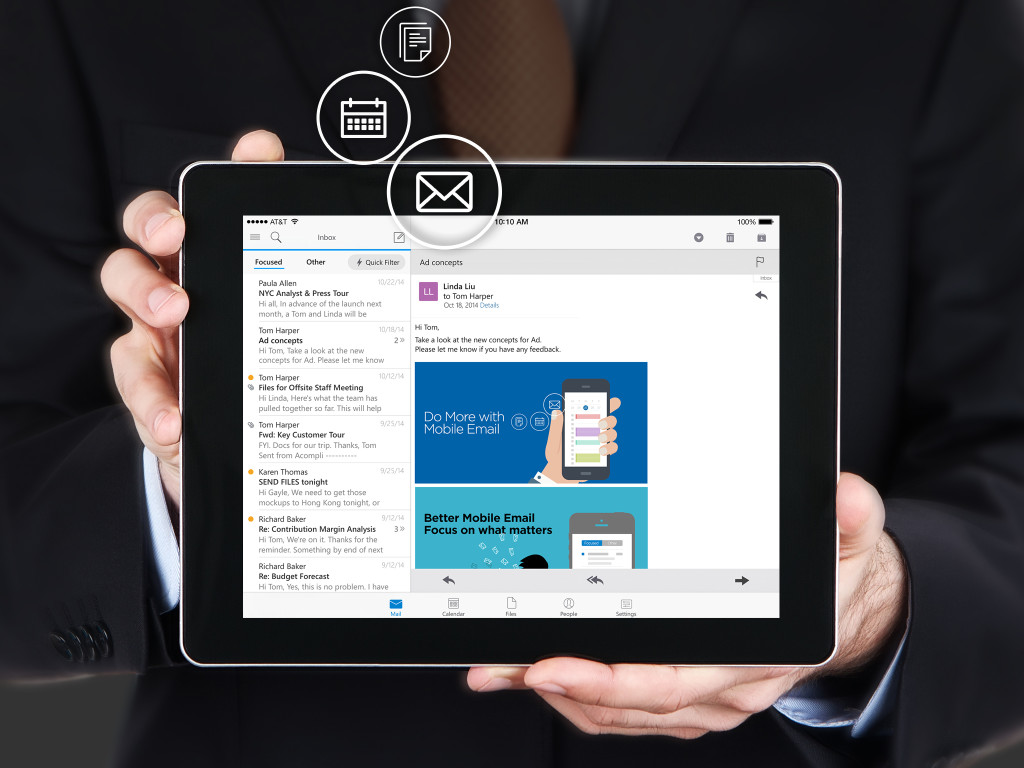 App Of The Week: Microsoft Outlook For Ios And Android Offers  Professionalgrade Email On The Ultimate Beginner's Guide To Building An  Email List With